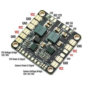 Matek Systems Mini Power Distribution Board PDB