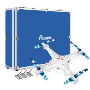 RC Quadcopter with Carrying Case&Parts