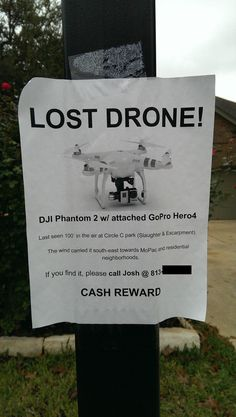 Track My Lost Drone