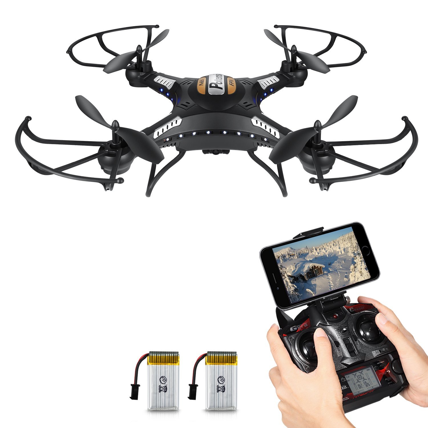 Drone with HD Camera, Potensic® F183WH
