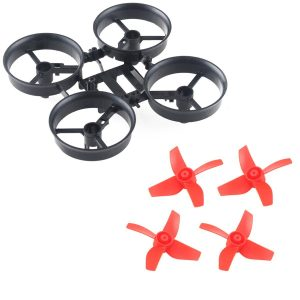 Crazepony 4pcs Propellers Red and Tin