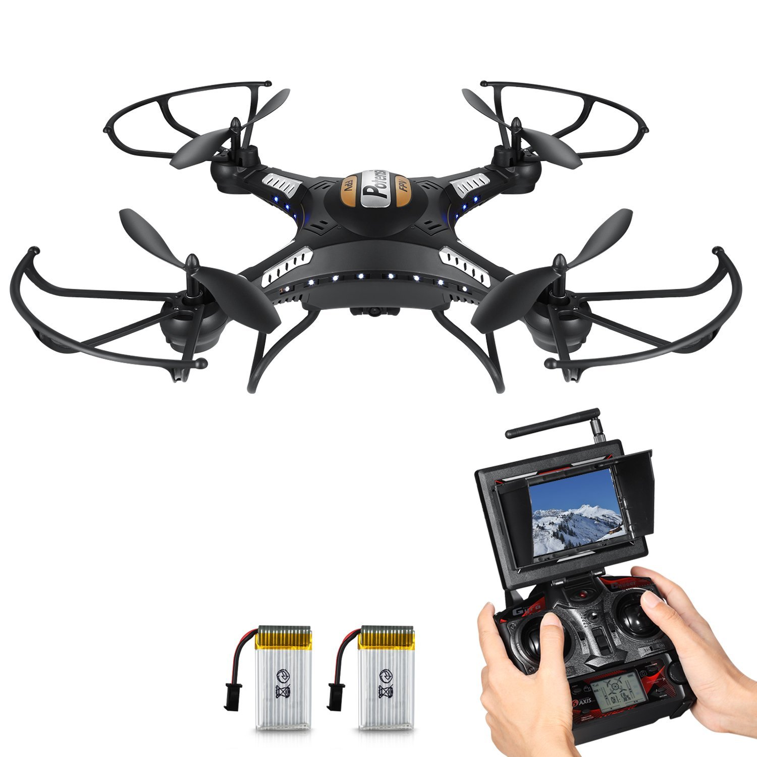 RC Quadcopter, Potensic RC Drone