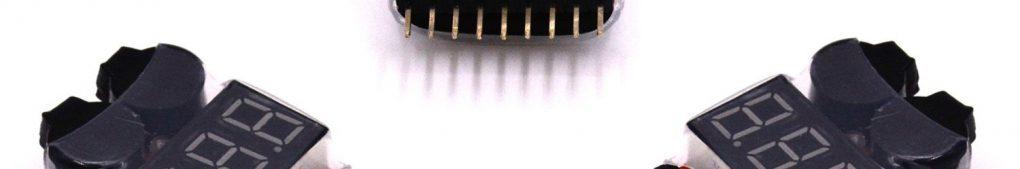 LHI 3 pcs 2 in 1 RC 2-8s Lipo Li-ion